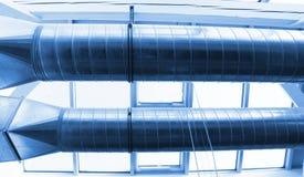 De pijpen van de ventilatie royalty-vrije stock foto