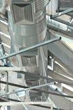 De pijpen van de ventilatie Stock Foto's