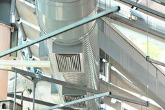 De pijpen van de ventilatie royalty-vrije stock afbeelding