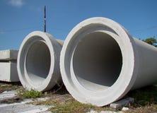 De Pijpen van het cement royalty-vrije stock afbeelding