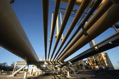 De Pijpen van het gas Stock Afbeelding