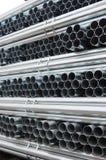 De pijpen van het staal Stock Foto