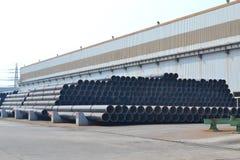 De Pijpen van het staal Stock Foto's