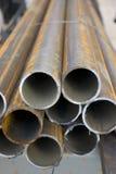 De pijpen van het staal Royalty-vrije Stock Foto's