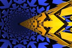 De pijpleidingen van de pijl vector illustratie
