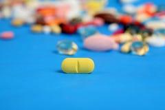 De pil van de vitamine royalty-vrije stock fotografie