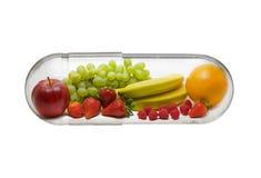 De pil van de vitamine royalty-vrije stock foto