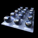 De pillen van de aarde Royalty-vrije Stock Foto