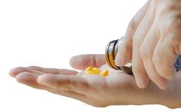 De pillen van de drug Stock Afbeelding