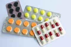 De Pillen van de geneeskunde Royalty-vrije Stock Fotografie