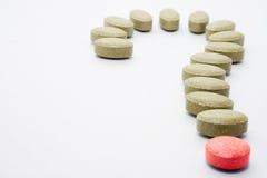 De pillen van de geneeskunde Royalty-vrije Stock Foto's