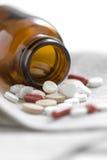 De pillen van de geneeskunde Stock Foto