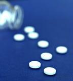 De Pillen van de geneeskunde Stock Afbeeldingen