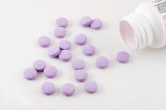 De Pillen van de geneeskunde Stock Foto's