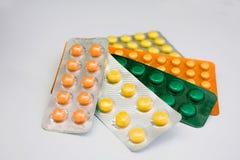 Geneeskundepillen royalty-vrije stock afbeelding