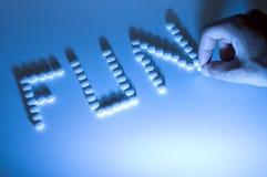 De pillen van de partij Stock Foto