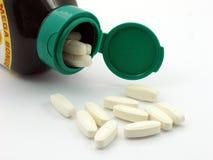 De pillen van de vitamine Royalty-vrije Stock Foto