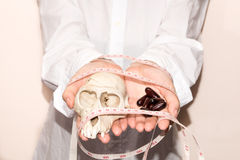 De pillen van het gewichtsverlies Stock Foto