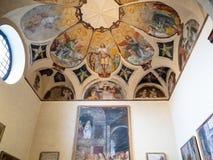 De Pinacoteca di Brera à Milan image stock