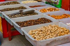 De pinda's, meloenzaden, is een zeer voedzame noot royalty-vrije stock afbeelding