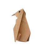De pinguïn van de origami Stock Foto's