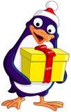 De Pinguïn van Kerstmis Stock Foto