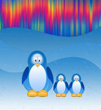 De pinguïnen Stock Foto's