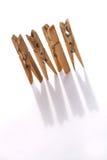 De pinnen van de doek Stock Foto