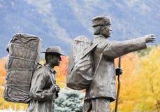 De Pioniers van Alaska Stock Afbeelding