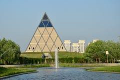 De Piramide in Astana/Kazachstan royalty-vrije stock foto