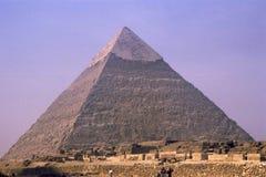 De Piramide van Cheops dichtbij Kaïro, Egypte Stock Afbeeldingen