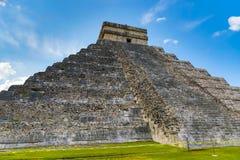 De Piramide van Chichénitz㠡 Royalty-vrije Stock Afbeeldingen