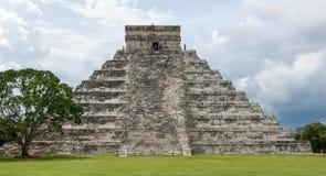 De Piramide van Chichenitza Royalty-vrije Stock Foto