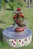 De piramide van de bloem Royalty-vrije Stock Afbeelding
