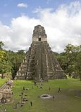 De Piramide van de jaguar Stock Foto