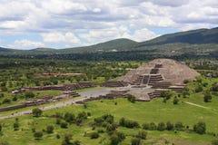 De piramide van de maan Royalty-vrije Stock Fotografie