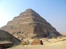 De Piramide van de stap Stock Fotografie