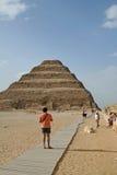 De Piramide van de stap Royalty-vrije Stock Foto's