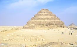 De Piramide van de Stap van Sakkara Royalty-vrije Stock Afbeelding