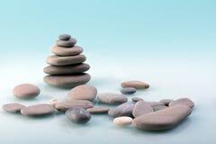 De piramide van de steen Royalty-vrije Stock Afbeelding