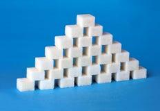 De piramide van de suiker Stock Foto