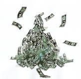 De piramide van financiën royalty-vrije illustratie