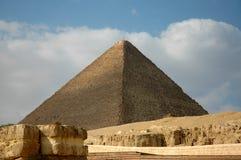 De piramide van Giza Stock Foto