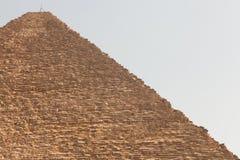 De piramide van Giza, Egypte Stock Foto's