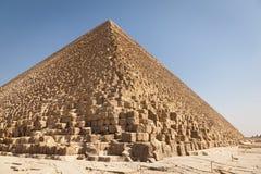 De piramide van Giza, Egypte stock fotografie