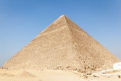 De piramide van Giza, Egypte stock afbeeldingen