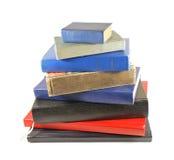 De piramide van het boek Stock Foto's