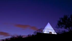 De Piramide van het Graf van de jacht in Tempe Arizona Stock Afbeeldingen