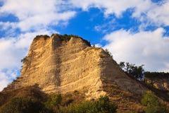 De Piramide van het zand Stock Afbeeldingen