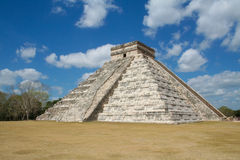 De piramide van Itza van Chichen Stock Foto